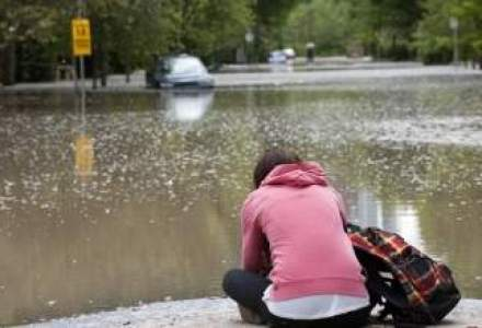 INUNDATII in Bulgaria. 1.000 de romani se afla in zona afectata