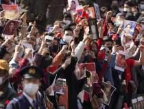 Proteste masive în Myanmar....