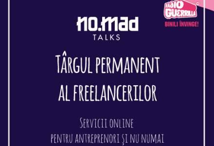 (P) NO.MAD Talks adună pachete de servicii pentru dezvoltare personală și de business la Târgul online al freelancerilor