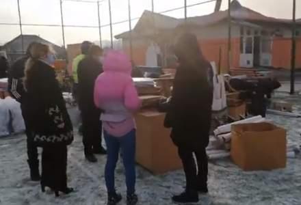 Incendiu la o școală din Vaslui: Clădirea este din anul 2012 şi are ca sursă de încălzire o centrală pe lemne