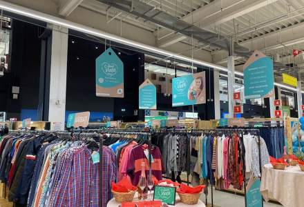 Auchan lansează un nou program pentru haine second-hand