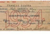 Primul permis de conducere al...