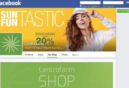 Centrofarm isi deschide magazin pe Facebook si vrea o rata de conversie peste media pietei