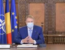 Mesajul lui Klaus Iohannis,...