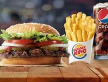 Burger King oferă un burger...