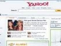 Yahoo isi schimba pagina de...