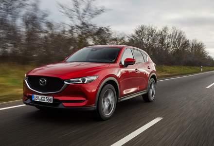 O versiune actualizată a SUV-ului Mazda CX-5 este disponibilă în Europa
