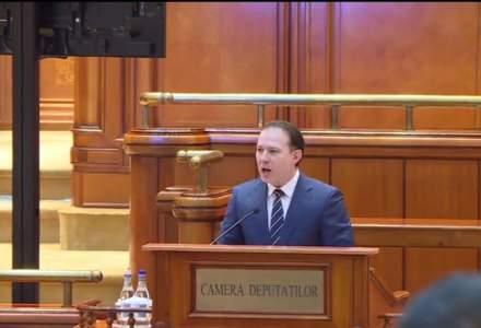 Cîțu, în Parlament: Mă contestă slugile lui Dragnea și ale lui Vâlcov