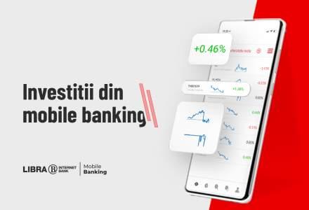 Libra Internet Bank anunță o premieră pentru banking-ul local: clienții vor putea tranzacționa acțiuni pe TradeVille direct din aplicația de mobile banking