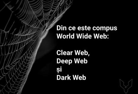 Clear Web, Deep Web, Dark Web - din ce este compus World Wide Web