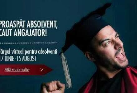 (P) 27 de companii multinationale recruteaza in cadrul Targului Virtual Hipo.ro pentru absolventi