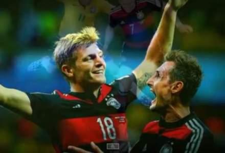 Calaul si victima: meciul dintre Brazilia si Germania, motiv de proteste (VIDEO)