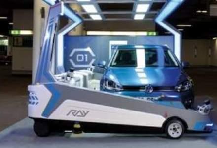 VIDEO: Ray, robotul care parcheaza masini pe Aeroportul Dusseldorf