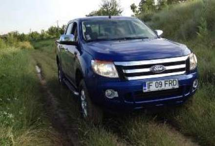 Test Drive Wall-Street: Ford Ranger facelift, un off-roader placut si pe sosea