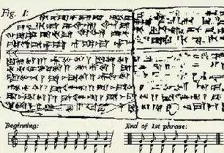 VIDEO. Cea mai veche piesa muzicala din lume, compusa in urma cu 3.400 de ani