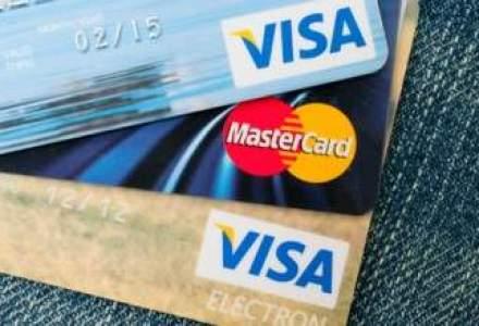 "Carduri de credit: in ce dobanzi ""se bat"" cele mai mari banci din piata"