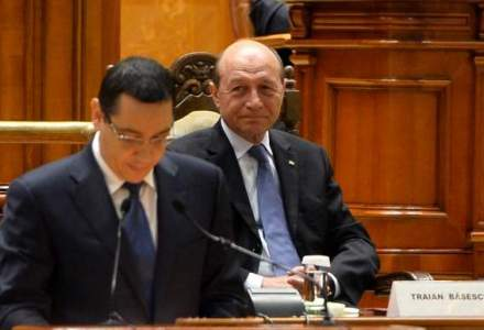 Reducerea CAS: motiv de cearta intre Basescu si Ponta