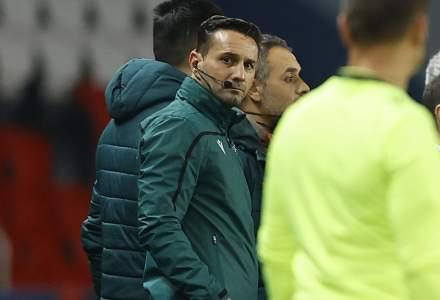 Arbitrul Sebastian Colțescu a fost suspendat de UEFA până la finalul sezonului