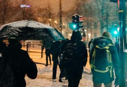 Prognoză meteo ANM: cod galben de ninsori și viscol