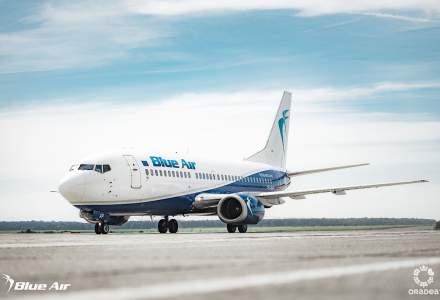 Reduceri MARI la zborurile noi Blue Air