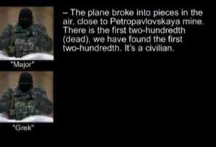 Aceasta convorbire telefonica ii incrimineaza pe rebeli: ei au prabusit avionul!