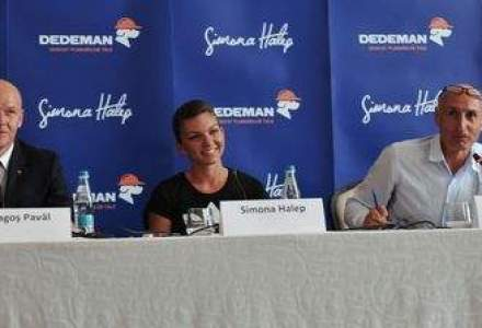 Ideea parteneriatului Simona Halep - Dedeman s-a nascut pe terenul de tenis. Bogdan Enoiu a intermediat proiectul