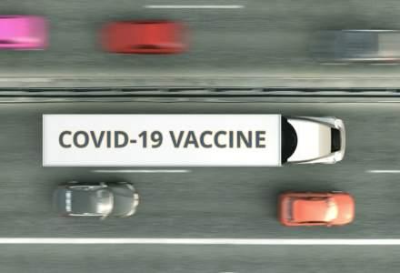 O nouă tranșă de vaccin AstraZeneca sosește în România