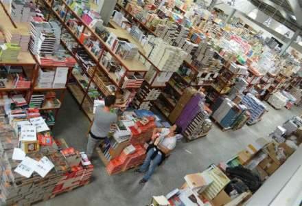 Vizita in depozitul Libris: 1.500 de metri patrati de carti, afaceri in crestere cu 80% in primul semestru [FOTO]