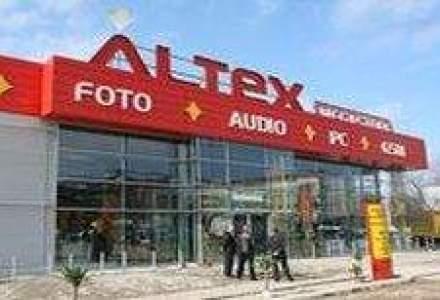 Altex vede afaceri in scadere cu 40% in S2, la 104 mil. euro
