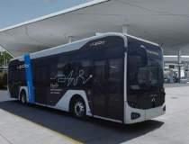 Primul autobuz electric...