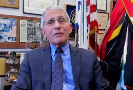 Ce spune Anthony Fauci despre vaccinul AstraZeneca