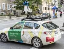 Maşinile Google Street View...