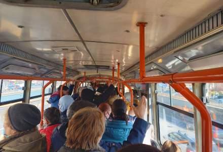 Protestul de la metrou aglomerează tramvaiele și autobezele și triplează prețurile la Uber și Bolt