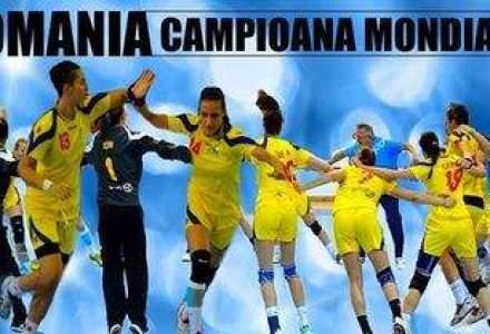 Campioane mondiale la handbal feminin: Bravo, junioarelor!