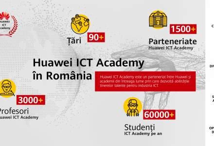 Huawei aduce programul ICT Academy în România, pentru studenții pasionați de tehnologie (P)