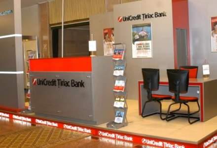 UniCredit Tiriac Bank: profit la jumatate in primele 6 luni, creditarea isi revine