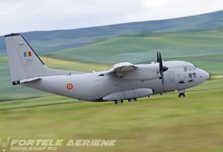 Misiune umanitară a Forţelor Aeriene Române: Un pacient cu arsuri a fost transferat în Austria