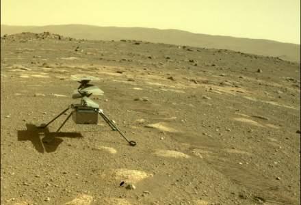 Elicopterul Ingenuity a supraviețuit primei nopți petrecute pe cont propriu pe Marte