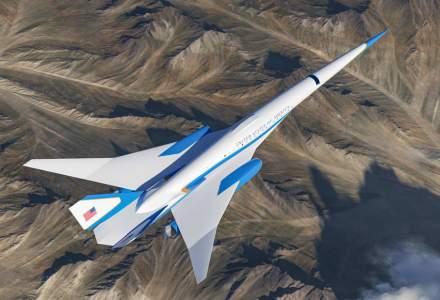 FOTO | Cum va arăta noul Air Force One supersonic și cabinele sale