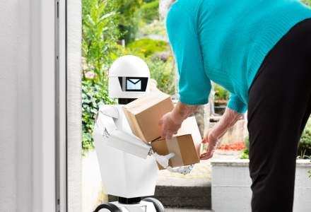 FAN Courier: Roboţii de livrare vor apărea întâi în clădirile mari de birouri