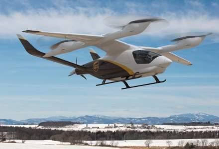 UPS va achiziționa 150 de aeronave electrice, care aterizează și decolează pe verticală