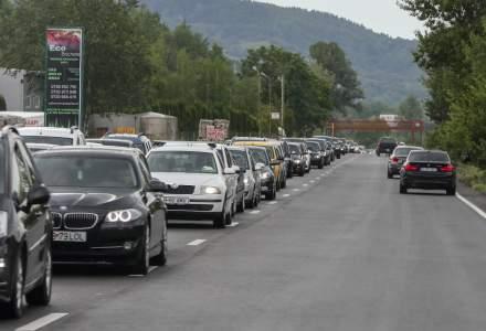 Restricții de trafic pe A1 București-Pitești și alte drumuri din țară