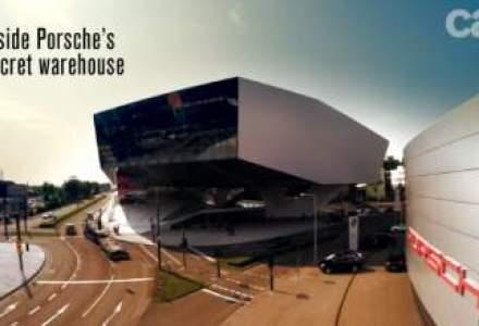 VIDEO: Cum arata depozitul cu prototipuri Porsche ascuns de public