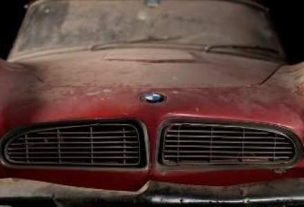 BMW restaureaza automobilul de epoca 507 care a apartinut lui Elvis Presley