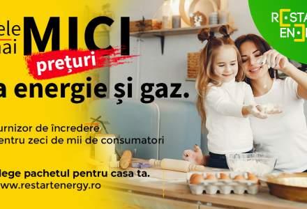 (P) Restart Energy - facturi mai mici la utilități și furnizor de încredere pentru zeci de mii de consumatori din toată țara