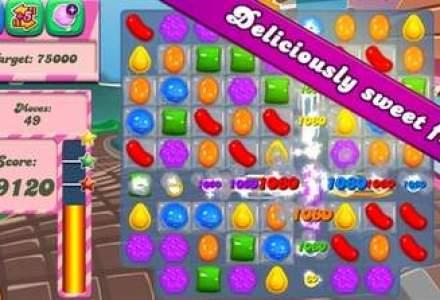 Producatorul jocului Candy Crush, vanzari in scadere