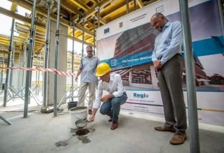 Ovidiu Sandor a inceput constructia ultimei cladiri din CBC Timisoara cu 26 mil. lei fonduri UE