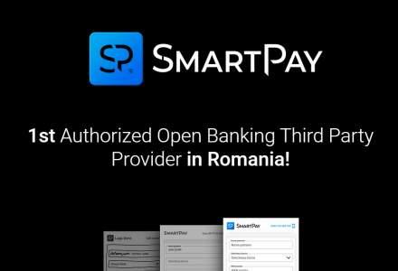 Premieră: Smart Fintech obține autorizarea BNR și devine primul furnizor terț de plăți (TPP) prin open banking din România