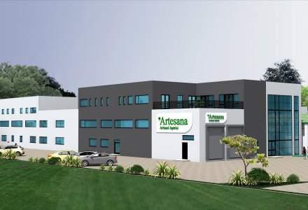 Producătorul românesc de lactate Artesana va construi o nouă fabrică