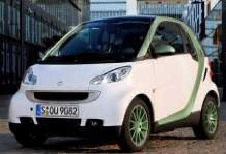 Smart Fortwo electric in Romania in 2012